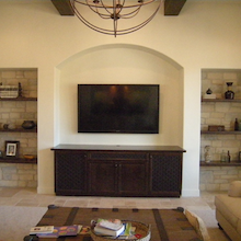 Custom Living Room Cabinets