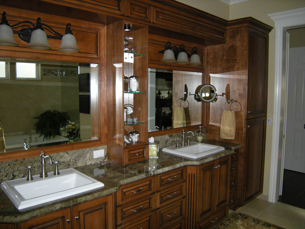 Custom Bathroom Cabinets Mandina 39 S Custom Cabinets
