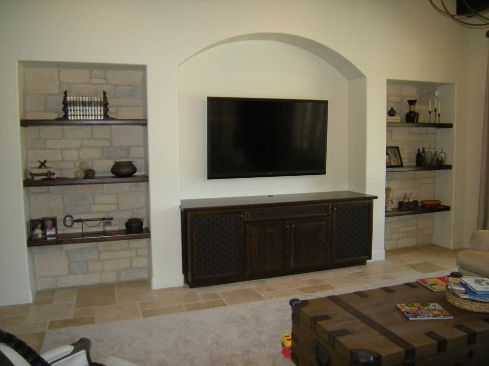 Custom Living Room Cabinets | Mandina\'s Custom Cabinets