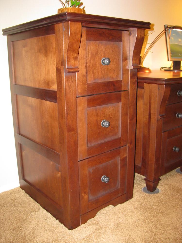 Custom File Cabinet By Mandinau0027s Custom Cabinets