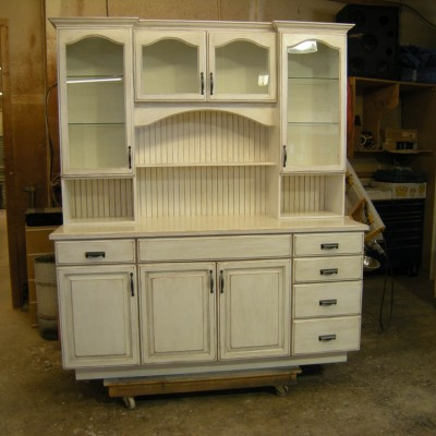 Custom Cabinet hutch