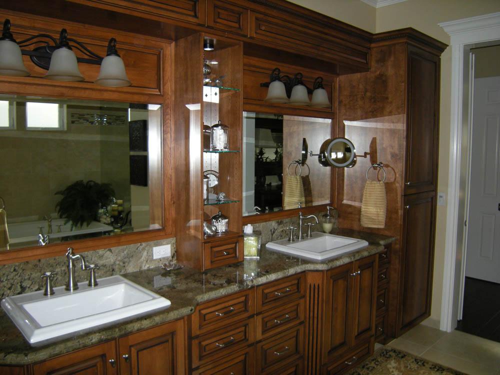 Custom bathroom cabinets mandina 39 s custom cabinets for Custom bath cabinets