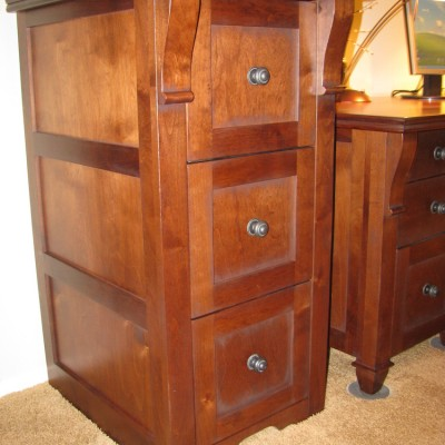 Custom File Cabinet by Mandina's Custom Cabinets