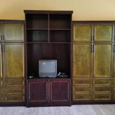 Custom Murphy Bed Installation, Cabinetry by Mandina's Custom Cabinets