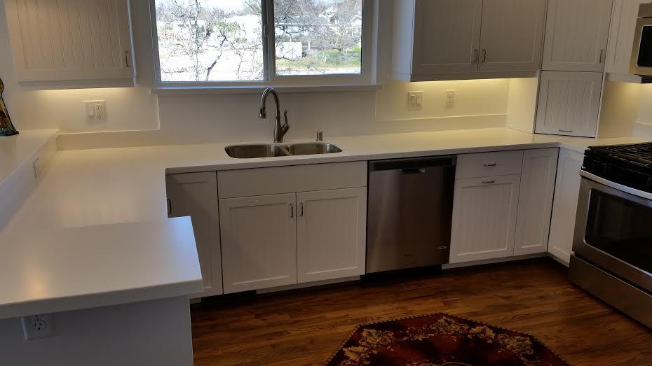 Modern Kitchen with under cabinet lighting