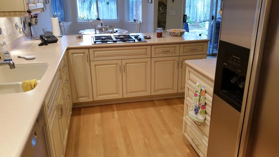Thermal Foil Kitchen Cabinets